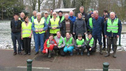 Vrijwilligers houden vijftiende zwerfvuilactie