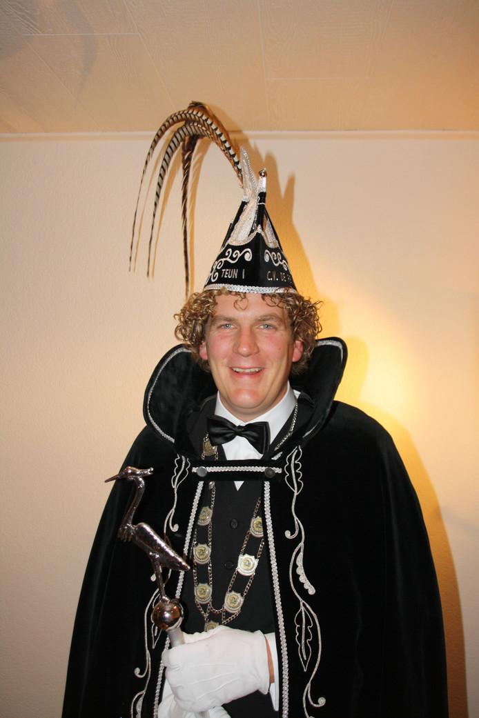 Prins Teun d'n Urste van Zijtaart.
