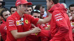 Vettel noemde hem tot drie keer toe 'klootzak', maar Leclerc grijpt macht bij Ferrari