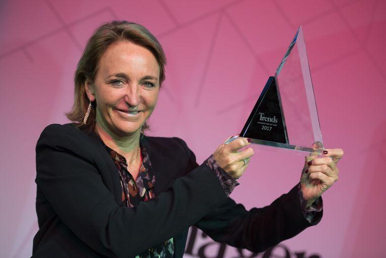 Michèle Sioen verzilverde haar derde nominatie.
