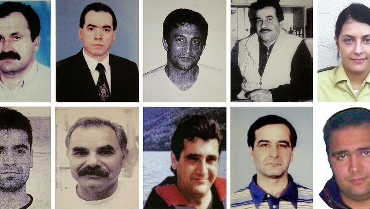 De slachtoffers van de NSU. Beeld AP