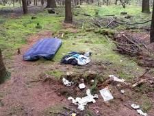 Dakloze man die weken in bos Doorn verbleef is vertrokken