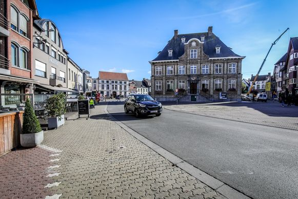Batjes in het centrum van Torhout
