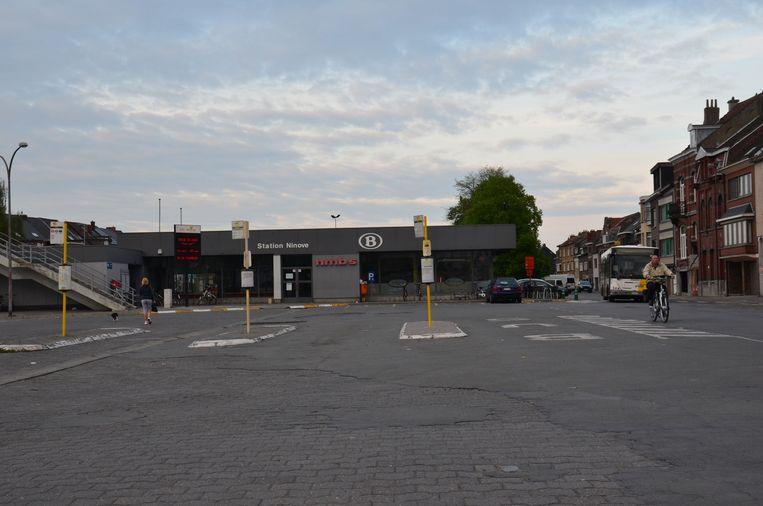 Het huidige station van Ninove.