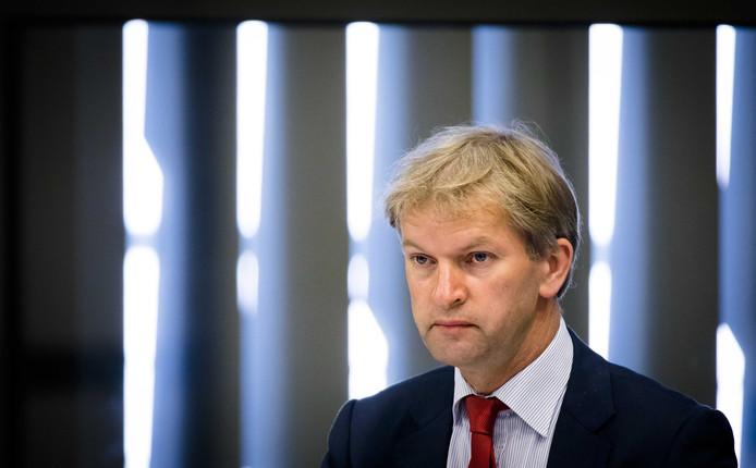 Maurits von Martels (CDA) tijdens een debat in de Tweede Kamer.
