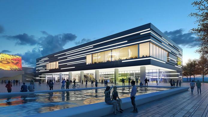 De metamorfose (ontwerp) van het Rotterdamse Hart van Zuid wordt gedaan door bouwbedrijf Heijmans uit Rosmalen.