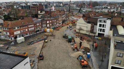 Beelden van drone tonen omvang van heraanleg stationsbuurt in Kortrijk