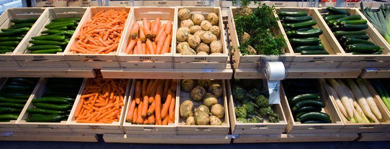 Biogroenten in de supermarkt. Beeld ANP XTRA