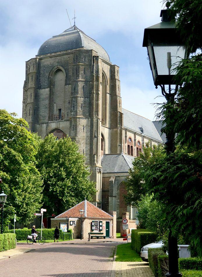 De Grote Kerk in Veere krijgt mogelijk ook een rol als museum om bezoekers te informeren over wat er te doen is in de gemeente.