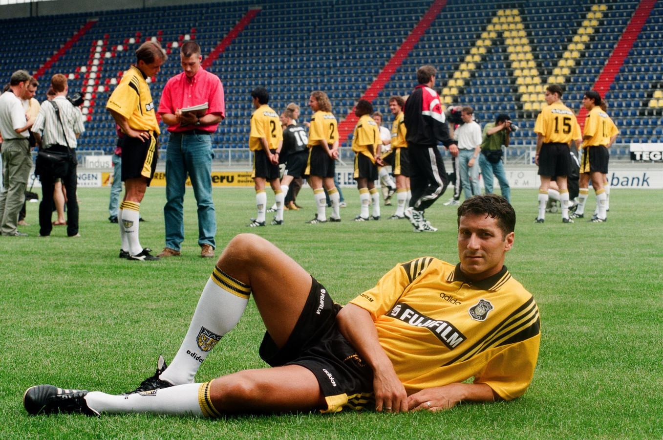 Ruud Brood als speler van NAC in 1997.