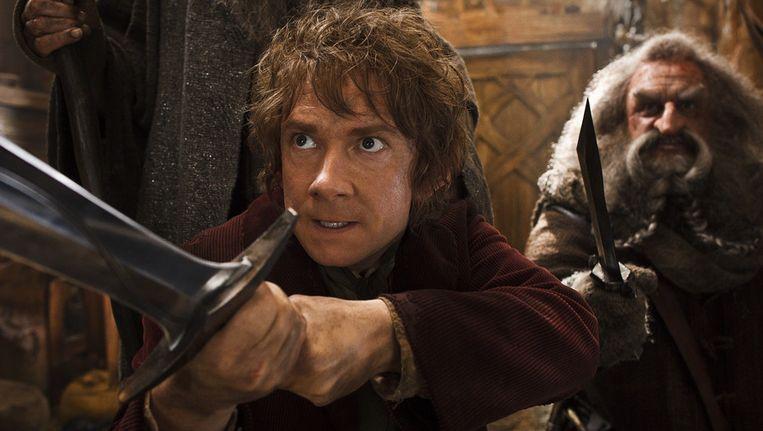 Martin Freeman (links) en John Callen in The Hobbit: The Desolation of Smaug. Beeld ap