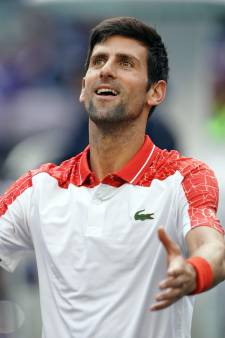 Djokovic stoomt door in Shanghai