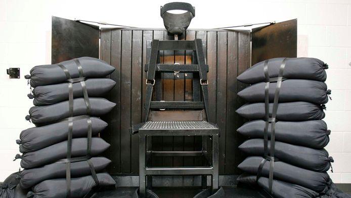 Peloton d'exécution à la prison de Draper, Utah.