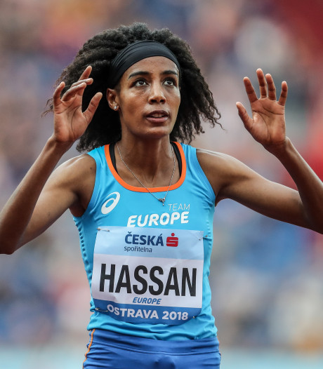 Hassan loopt Nederlands record op 1500 meter