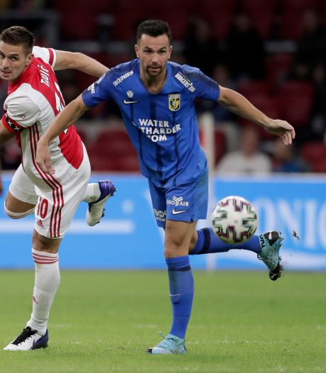 Bruns na zwerftocht eindelijk weer happy bij Vitesse: 'Slutsky was niet mijn type'