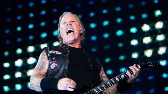 Metallica haalt 1,3 miljoen dollar op met online concert