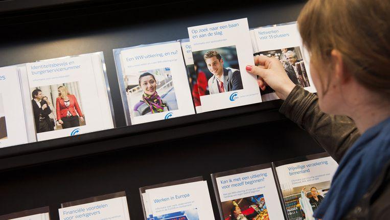 In Rotterdam financieren 'private partijen' de begeleiding van werkloze jongeren. De gemeente beloont dit, als het uitkeringen uitspaart. Beeld anp