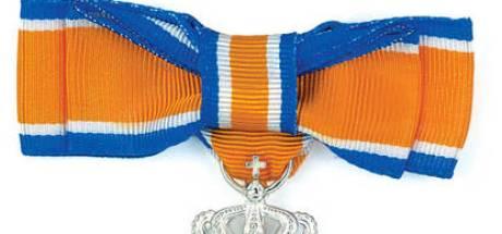 Koninklijke onderscheiding voor 25 Edenaren
