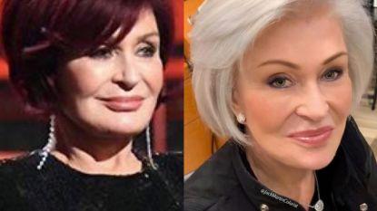 Sharon Osbourne ruilt iconische rode lokken voor grijze coupe