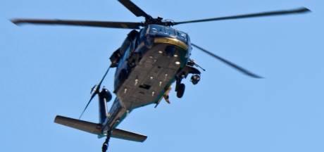 Helikopter gaat meer dan duizend ton gemalen schelpen op de Ginkel droppen