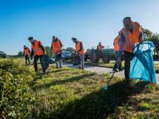 World cleanup day AZC Gilze: 'Als ik het niet opruim, wie dan wel?'