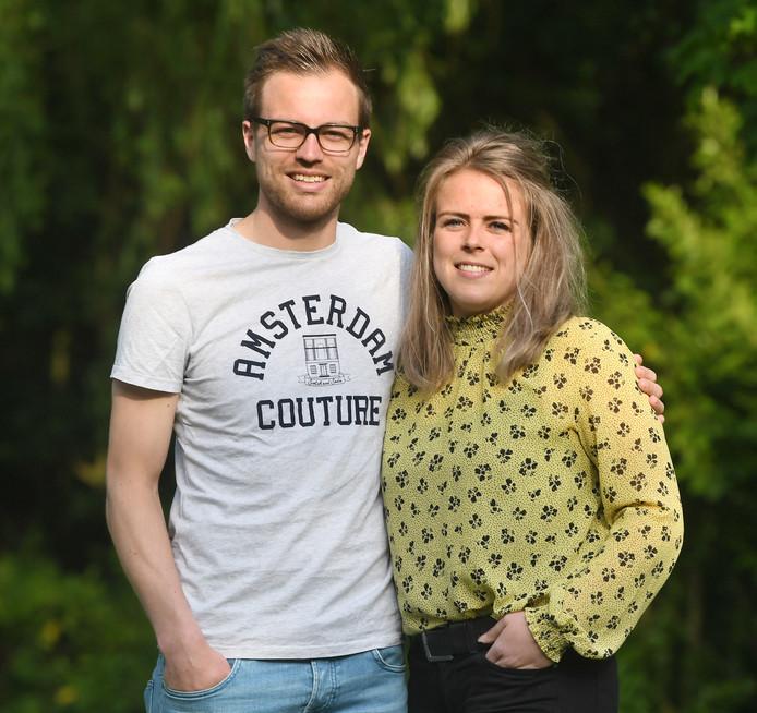 Ruben en Hanne Hollemans.