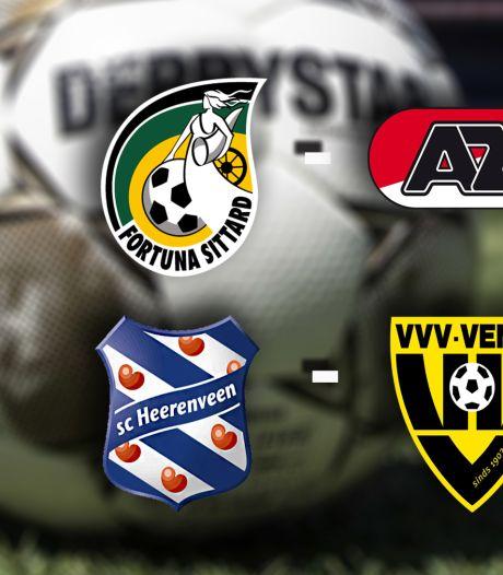 LIVE | Kan Heerenveen voorsprong uitbreiden, of doet VVV wat terug?