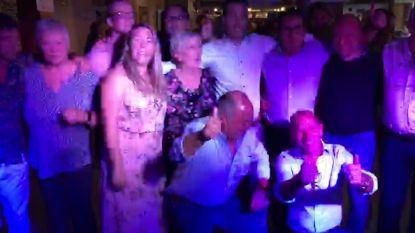 VIDEO: Iedereen Bornem viert in 't Hemelhof