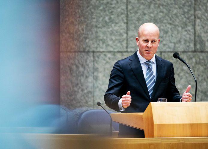 Raymond Knops, staatssecretaris van Binnenlandse Zaken en Koninkrijksrelaties.