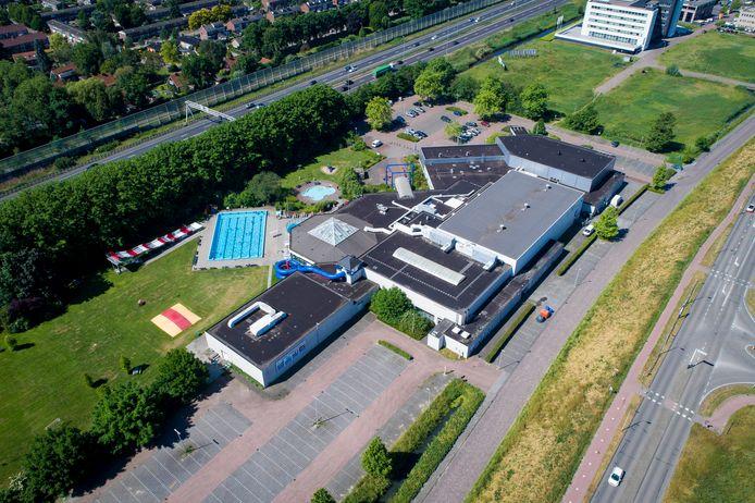 Luchtfoto Bronbad De Lockhorst