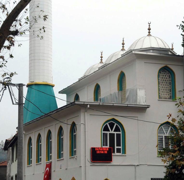 De moskee van Sugoren in het westen van Turkije.