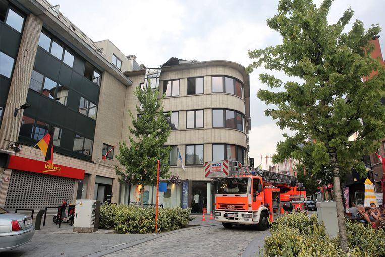 De schade in Halle werd door valwinden veroorzaakt en niet door een windhoos, volgens meteorologen.