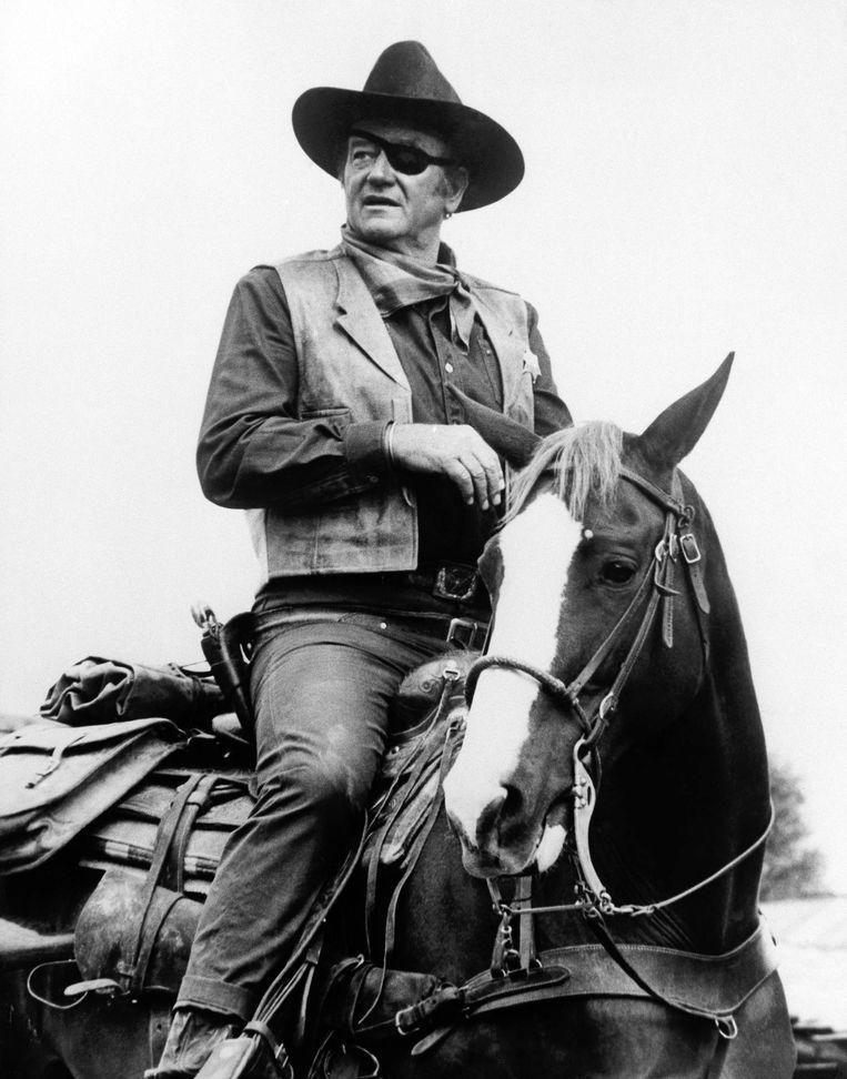 John Wayne: haal de huifkarren. Beeld AP