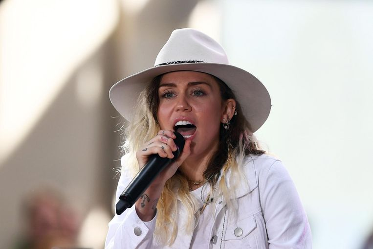 Miley Cyrus. Beeld anp