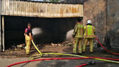 Afvalcontainer uitgebrand op terrein KTA Diksmuide