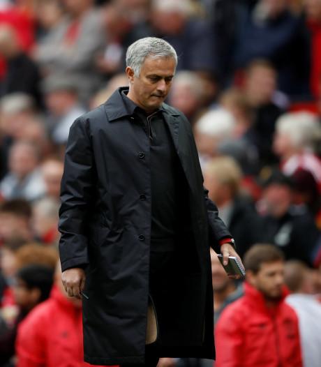 Mourinho hekelt instelling spelers na nieuwe domper United