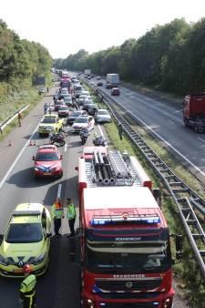 A4 weer vrij na kettingbotsing bij Bergen op Zoom