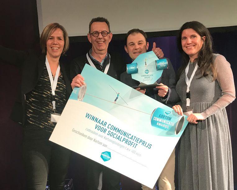 Ostenders van Az Damiaan bekroond tot beste communicatieactie in de Social Profit van 2019