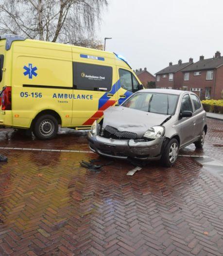 Vrouw gewond bij botsing in Vriezenveen