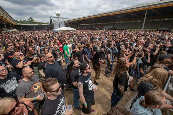 Dynamo Metalfest bracht dit jaar op zaterdag 7500 liefhebbers op de been.