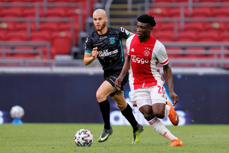 Met Mohammed Kudus heeft Ajax er een nieuwe publiekslieveling bij | Trouw