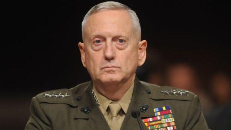 Generaal James Mattis. ANP Beeld
