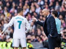 Zidane kan zich een Real zonder Ronaldo niet voorstellen: 'Hij hoort hier'