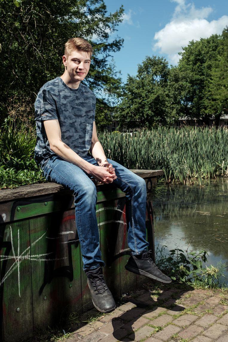 Mischa Mellema (18) Beeld Jakob van Vliet
