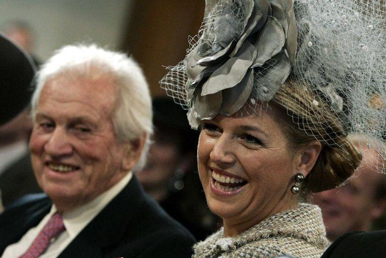 Jorge Zorregieta en zijn dochter koningin Máxima. Beeld anp