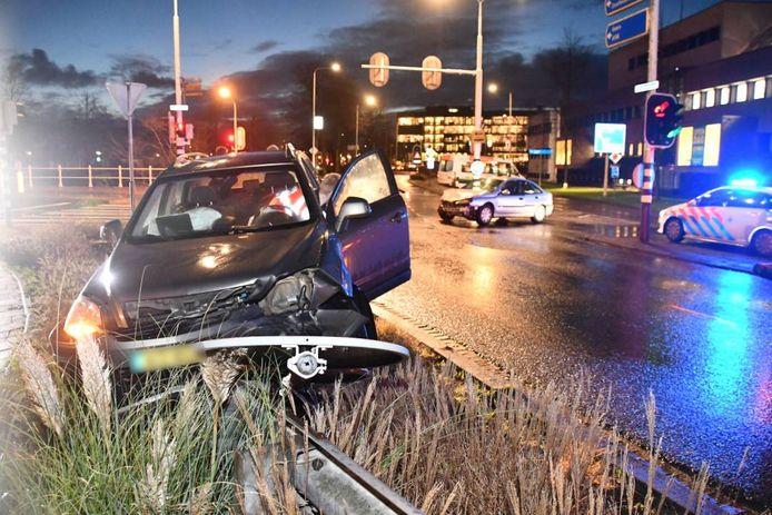 Het ongeluk zorgde voor veel schade.