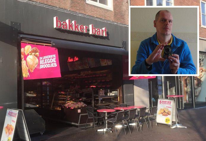 De bakkerij aan de Lange Delft. Inzet: vaste klant Hans.