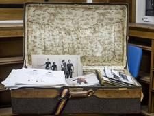 Modeschat in een koffer gevonden in Hengelo