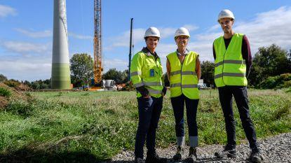 Nieuw windpark nabij industriezone krijgt vorm
