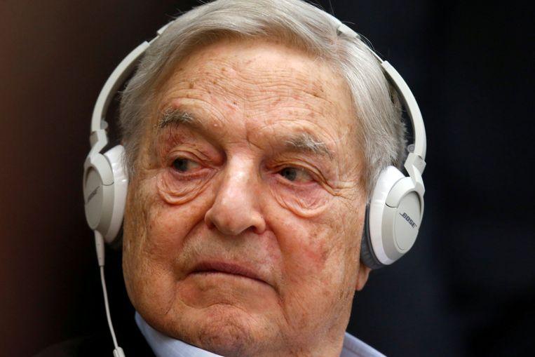 George Soros in 2015. Beeld REUTERS